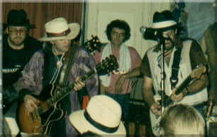 Tom with Stevie Ray Vaughan, 1984
